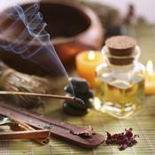 Encens huile massage