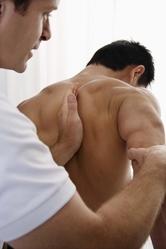 Massage dos sportif