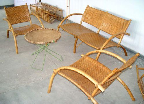 Salon de jardin en bambou : critères de choix et prix - Ooreka