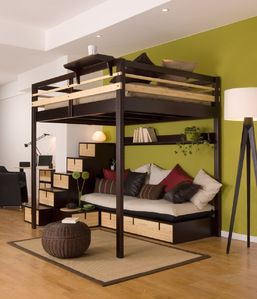 lit mezzanine 2 places ooreka. Black Bedroom Furniture Sets. Home Design Ideas