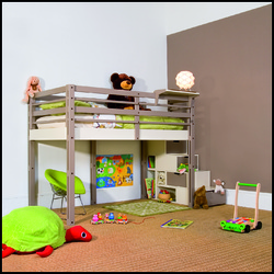 lit mezzanine pour enfant crit res de choix et prix ooreka. Black Bedroom Furniture Sets. Home Design Ideas