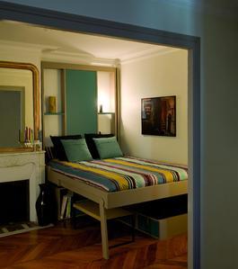 mezzanine escamotable ooreka. Black Bedroom Furniture Sets. Home Design Ideas