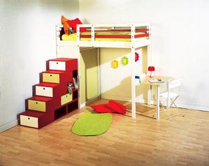 lit mezzanine crit res de choix et prix ooreka. Black Bedroom Furniture Sets. Home Design Ideas