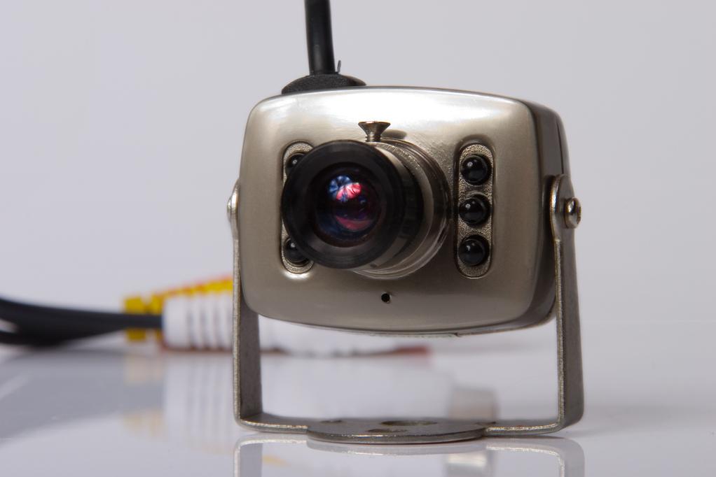 Mini camera surveillance