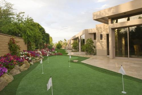 Mini golf de jardin