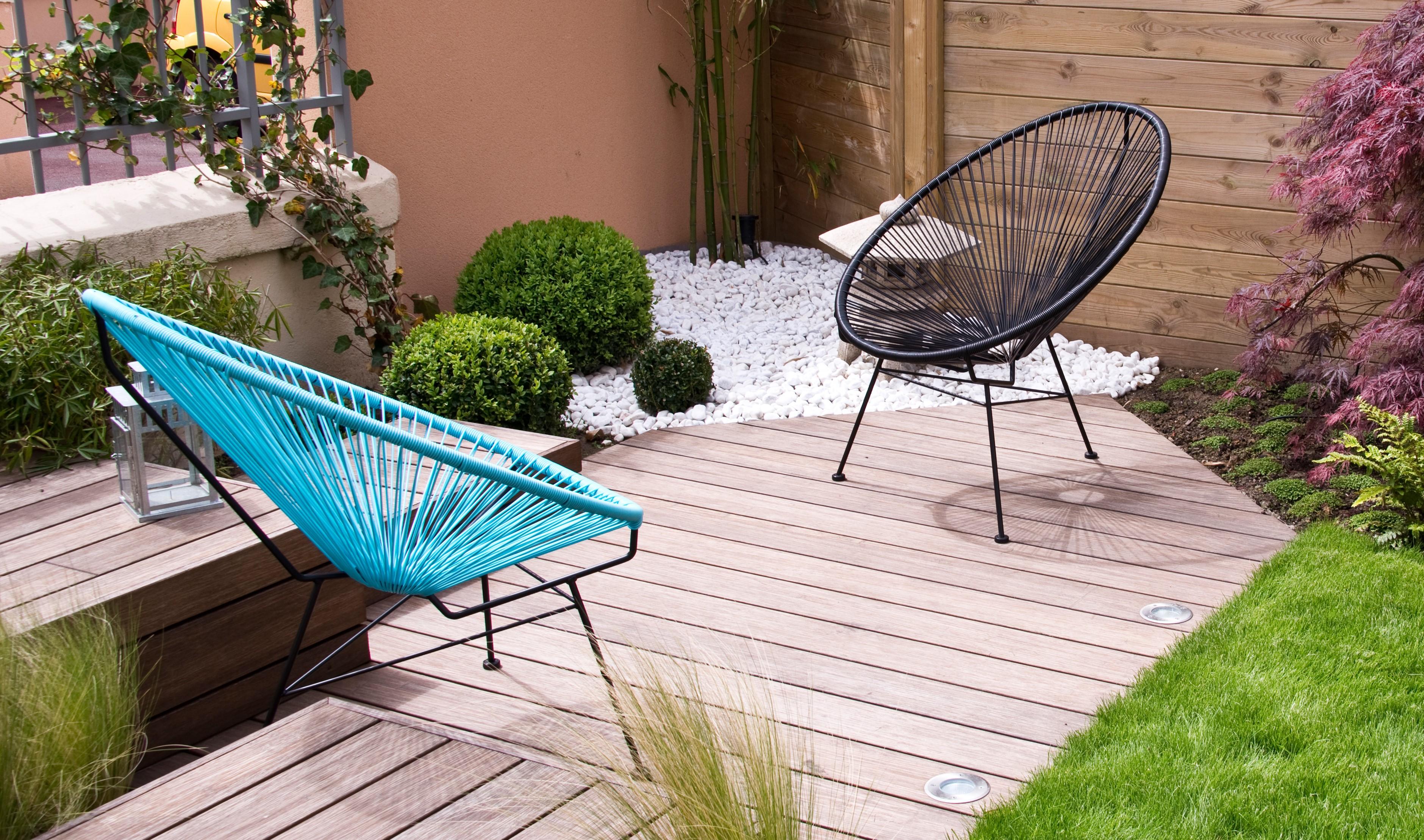 10 idées de salons de jardin modernes - Ooreka
