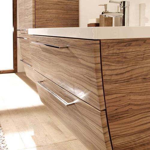 vasque en bois salle de bain - Materiaux Salle De Bain