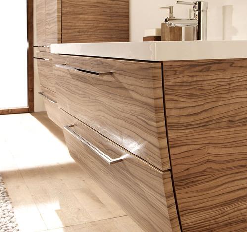 Photo guide de la salle de bain vein for Mobilier salle de bain bois
