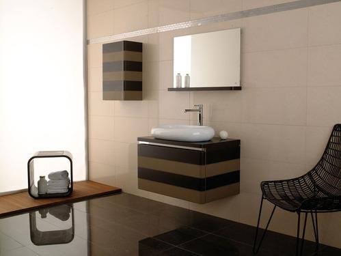 Photo guide de la salle de bain cuir - Meuble de salle de bain porcelanosa ...