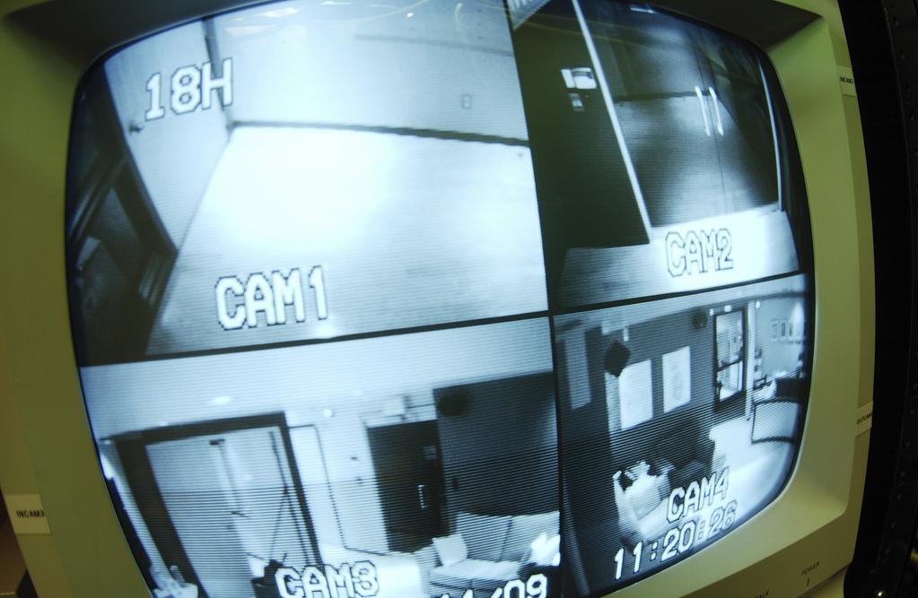 Moniteur videosurveillance