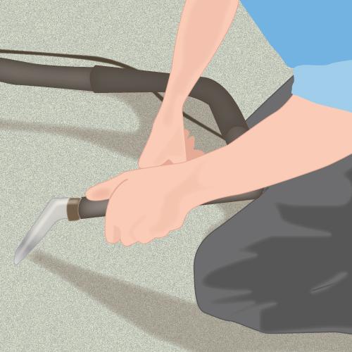 Nettoyer la moquette
