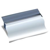 Feuille d'aluminium ou de cellophane