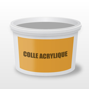 Colle acrylique