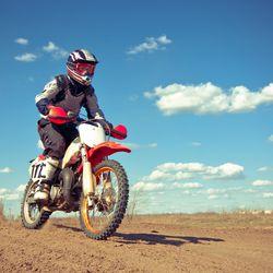 Pneu de moto trial