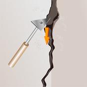 R parer une fissure d angle dans un mur en pl tre mur for Reparer une fissure dans un mur exterieur