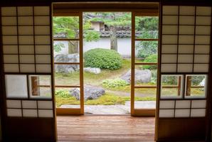 Cloison Japonaise Les Types Ooreka - Portes coulissantes japonaises