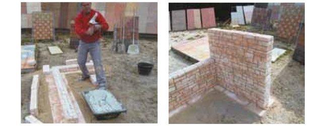 R aliser un muret ou une jardini re en pierre reconstitu e marlux am nageme - Muret pierre reconstituee ...