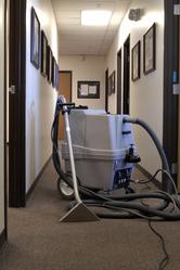 Couloir bureaux nettoyeur
