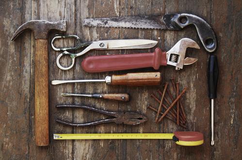 Les outils du bricoleur
