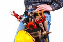 Les outils pour faire de la plomberie.