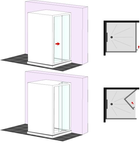 Porte douche infos et prix ooreka for Porte de douche pliante
