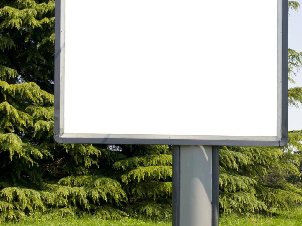 Faites vous de l argent gr ce aux enseignes publicitaires for Pancarte publicitaire exterieur