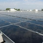 Panneau solaire First Solar toiture