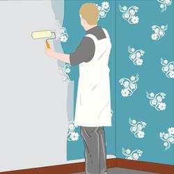 Papier peindre guide pratique du papier peint a peindre - Mettre du papier peint sur du papier peint ...