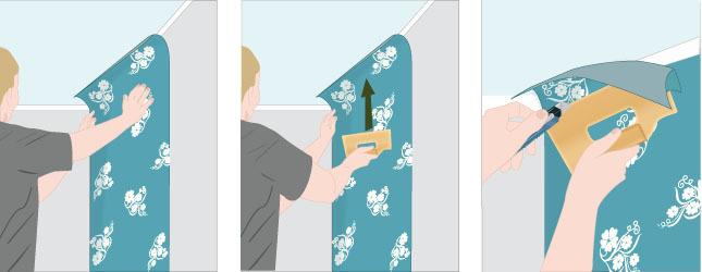 Poser du papier intiss papier peint - Comment poser du papier intisse ...