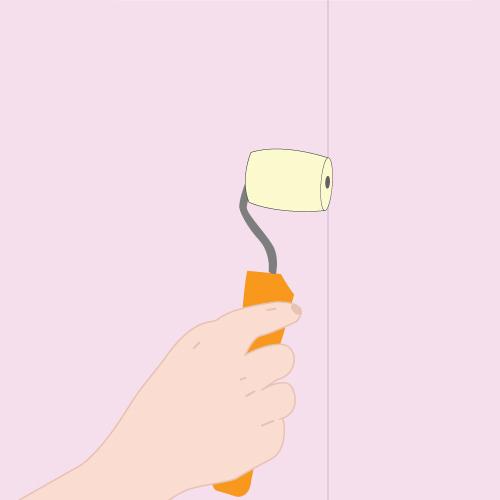 Poser un papier peint papier peint - Installer du papier peint ...