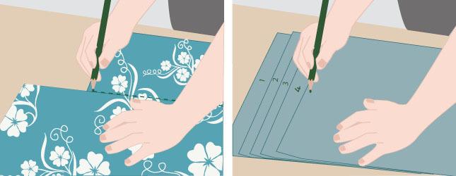 poser du papier peint avec raccords - papier peint
