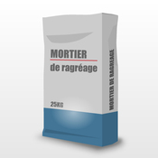 Mortier de ragréage ou mortier de ragréage fibré