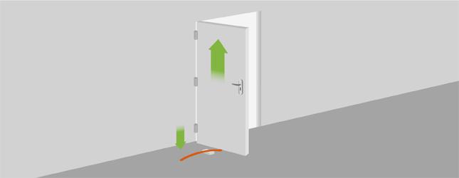 peindre une porte porte. Black Bedroom Furniture Sets. Home Design Ideas