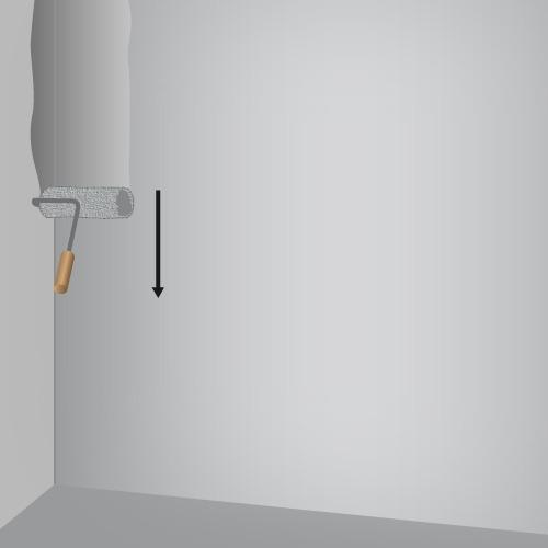 Laquer un mur