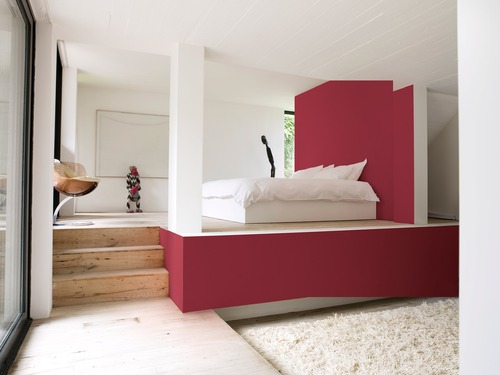 photo peinture peinture acrylique blanche et rose. Black Bedroom Furniture Sets. Home Design Ideas