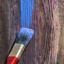 Peinture le sujet d crypt la loupe page 5 for Peinture bois sans poncer