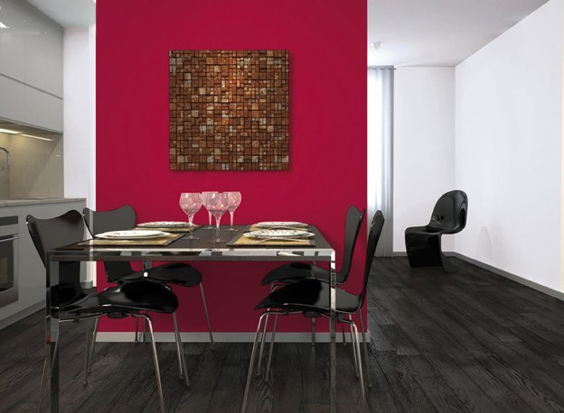 Peindre un mur d 39 une couleur diff rente conseils ooreka - Comment peindre les murs d une cuisine ...