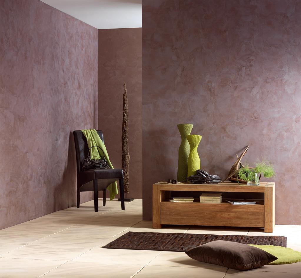 Peinture d corative choix d 39 une peinture d corative ooreka - Peinture decorative stucco ...