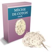 Mèche de coton