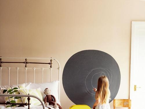 photo decoration peinture tableau noir. Black Bedroom Furniture Sets. Home Design Ideas