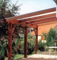 pergolas structure simple