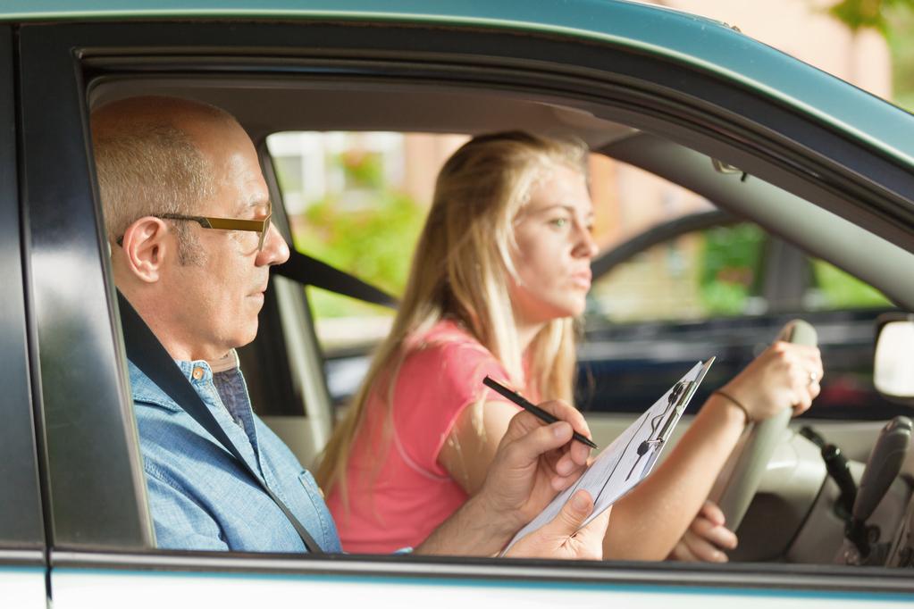 Examen blanc du permis de conduire