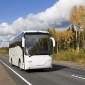Bus route de campagne