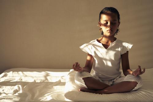 Yoga et enfant