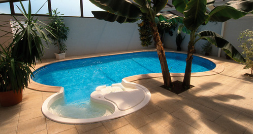 Photo Decoration Petite Piscine Int Rieure