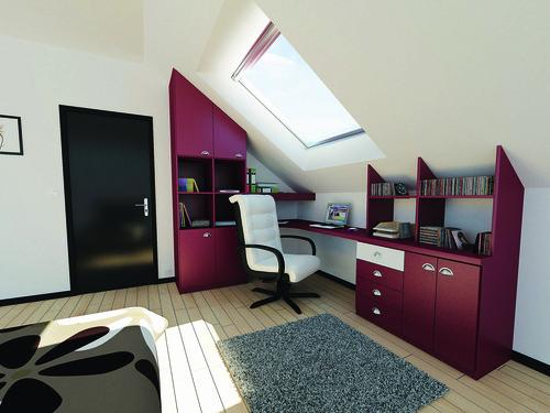 amenagement combles infos sur les tag res sur mesure. Black Bedroom Furniture Sets. Home Design Ideas
