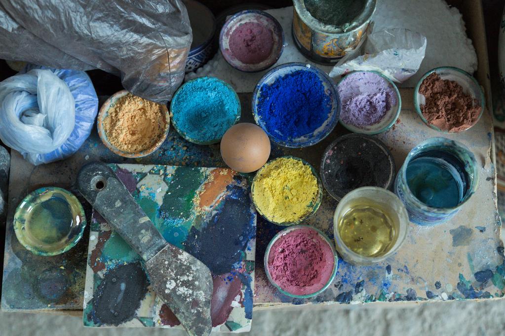 Pigments  Les Types De Pigments Et Leurs Utilisations  Ooreka