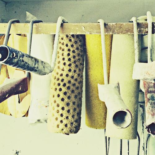 Conserver les pinceaux et rouleaux à peindre