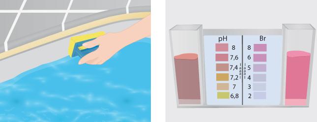 Entretenir une piscine au brome piscine for Ph d une piscine
