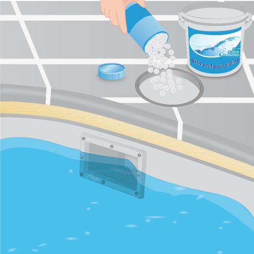 Entretenir une piscine l oxyg ne actif piscine for Piscine a l oxygene actif